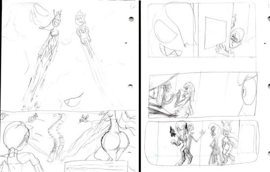 Green Titan Preview Pencil-Pages by SonicClone