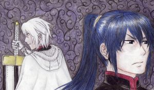 kanda and allen by elipride