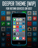Deeper Theme for Retina Devices iOS7 by bowlandspoon