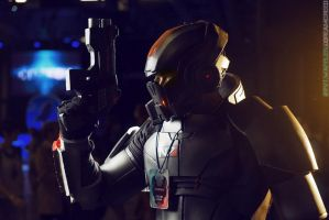 Commander Shepard at Starcon 2015 by m0rg0t-Anton