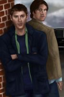 Winchester Brothers by Silieth