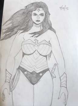 Wonder Woman Attempt by Altherius