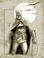 Batman something about the 17th Century by deralbi