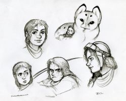 Owl Griffin Human Companion by RobtheDoodler
