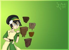 The Gaang: Toph by Asterismo