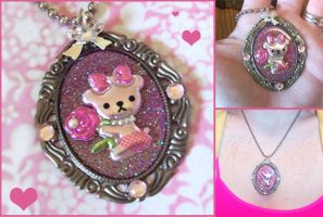 Beary Sweet Necklace by bapity88