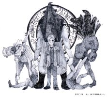 Silent Hill 2 Ink by TheFrymon