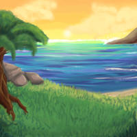 Background practice by SpunkyRacoon