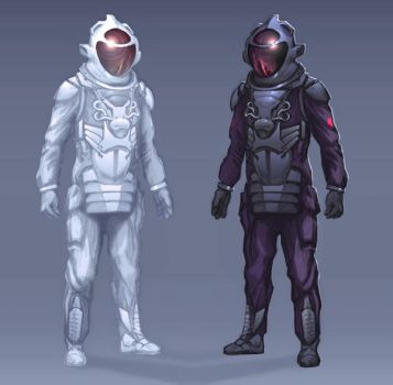 Spacesuit concept by Harnois75