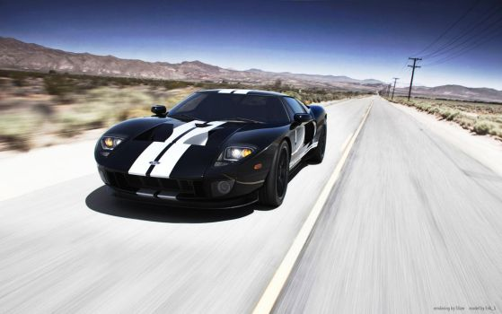 Ford GT by 3n1-gm4