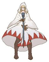 Agrias in White Mage style by Akira-H