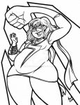 Plus SIze Pinup Series Ms Marvel by mainasha