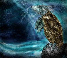 Once I was a turtle too by madalice