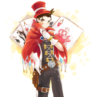 Magician Apollo by katcatlinkattack