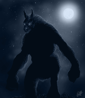 Werewolf in its rightfull element by StreetCap