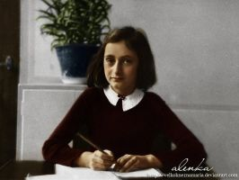 Anne writing by VelkokneznaMaria