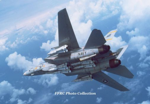 F-14A BuNo 160919 VF-32 AB-210, circa 1977 by fighterman35