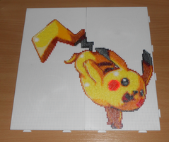 Pikachu (Mini-Beads) by FTWBAmanojaku