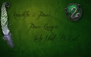 Slytherins for Life by RiaVeg