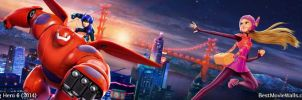 Big Hero 6 BestMovieWalls d05 by BestMovieWalls