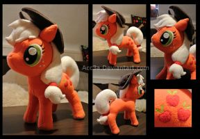 APPLEJACK PLUSHIE by Acc3a