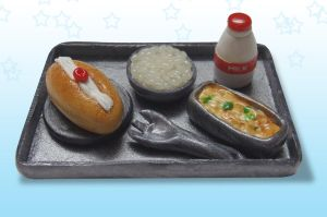Japanese school lunch! by erinminiatures