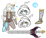Alice Alabast RWBY Revision Reference by Grump-Support