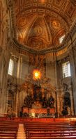 St.Peter's dome HDR by mstargazer