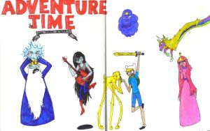 Adventure time by gothicEMerald1