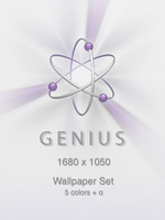 Genius Wallpaper set by mtbird