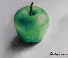 Green Apple by kissutf