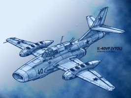 Il-40VP VTOL by TheXHS