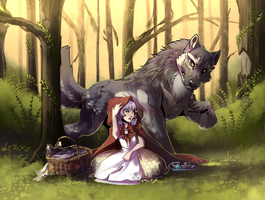 Little Red Riding Hood by Belliko-art