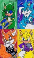 DanSyron themed ACEO cards by WickedZekrom