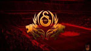 Galatasaray Wallpaper by EsegaGraphic