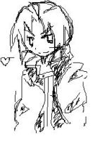 MS Paint Ed Doodle by Evee-Elric