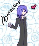 Zexion and his BATHSOAP :D by dgirl1224