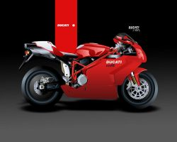 Red Ducati by blue-venom