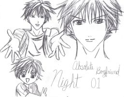 night absolute boyfriend by KaemiSakume
