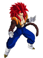 Gogetto SSJ4 by Dairon11