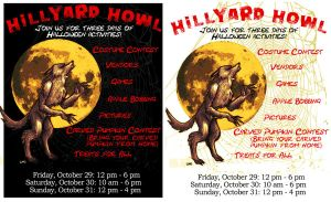 Hillyard Howl Poster by LOBrien