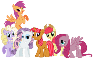 My Little Fillies by Shadowhedgiefan91