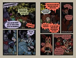FNAF4 Comic - House Party - Page 60 - 3-27-17 by Mattartist25