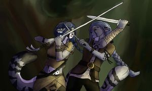 Sparring by ghillietoes42
