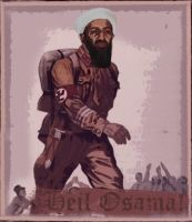 :Osama goes Nazi: by brokenelement
