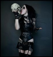 black metal barbie2 by Ego93