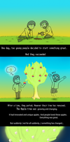 How to plant a tree by Domisea