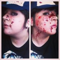 Clementine (Make-up Test #1) by AngelicCosplay