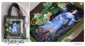 Ophelia purse by Faeriedivine