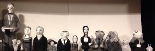 The Addams family in progress by bones1999